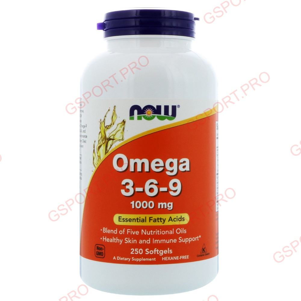 NOW Foods | Omega 3-6-9 (1000mg)