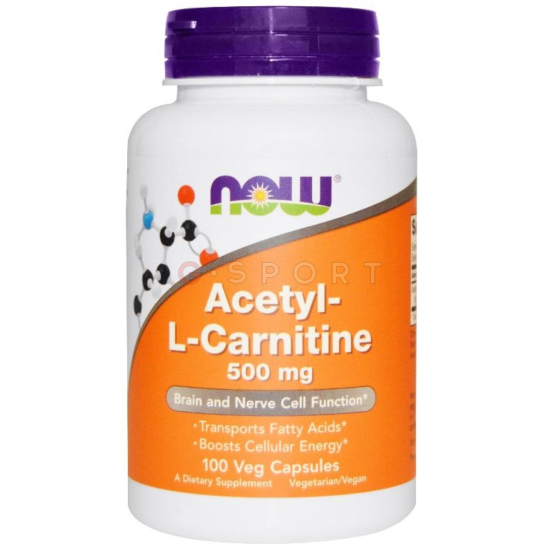 NOW Foods | Acetyl L-Carnitine 500