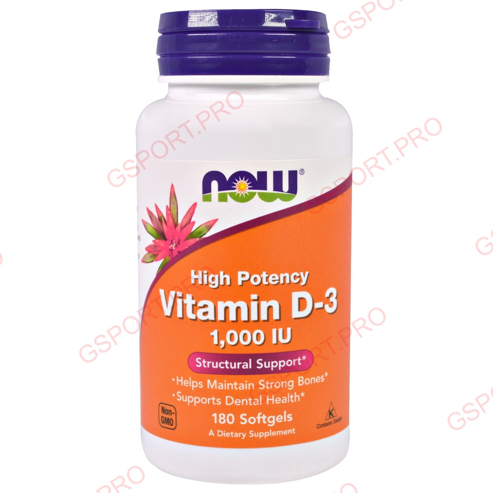 NOW Foods | Vitamin D3 (1000ME)